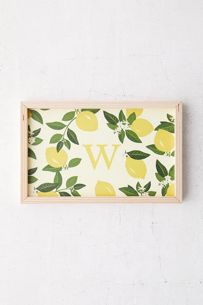 Iveta Abolina For Deny Citrus Polka Wood Tray