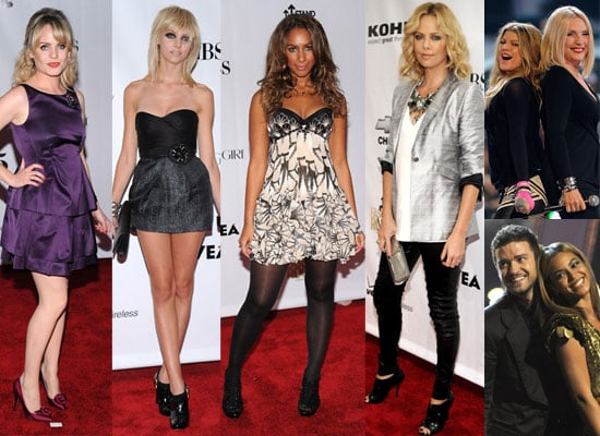 Photos from Fashion Rocks 2008, including Beyonce and Justin Timberlake, Deborah Harry and Fergie, Leona Lewis, Duffy