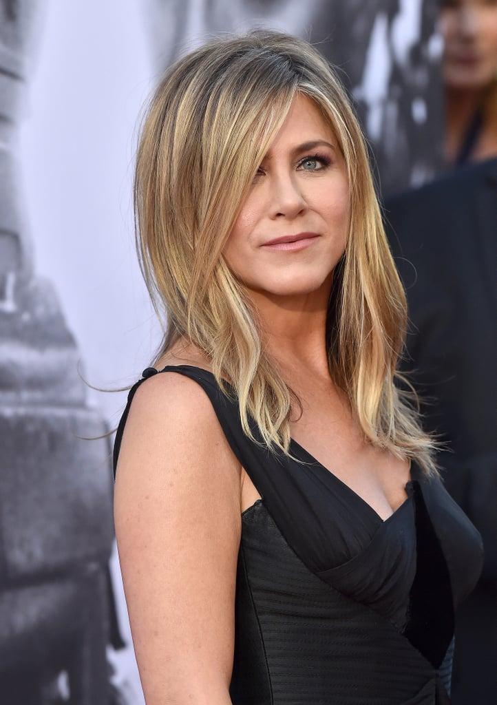 Jennifer Aniston Celebrity Hair Color Trends 2018 Popsugar
