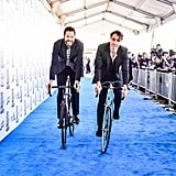Kyle Marvin and Michael Angelo Covino at the 2020 Spirit Awards