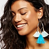 Ettika Carlotta Tassel Earrings at Free People
