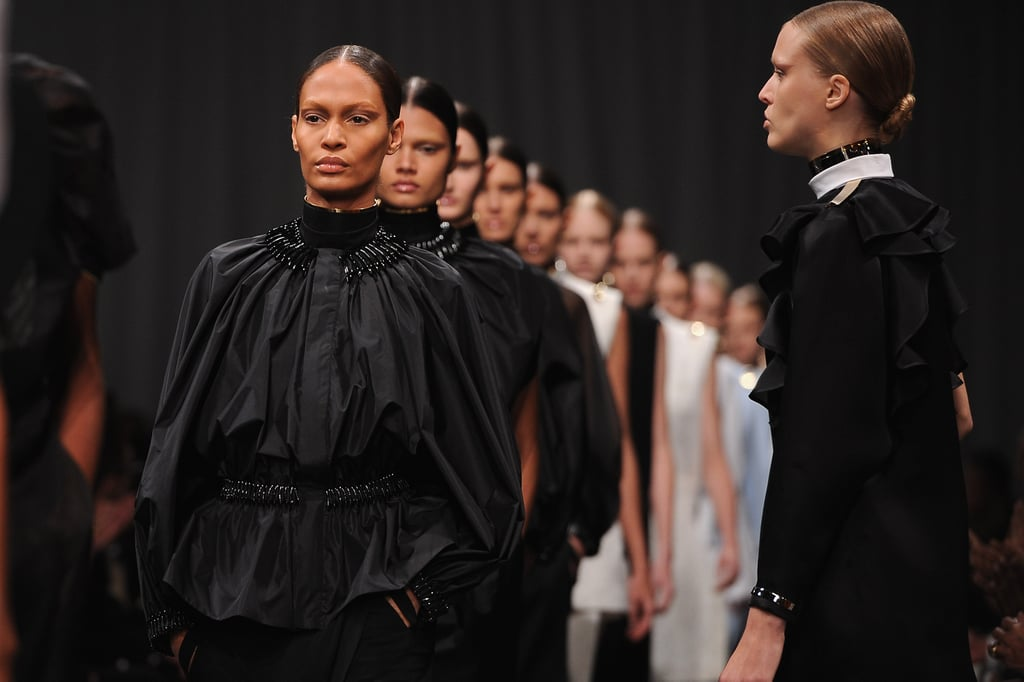 Pictures and Review of Givenchy Spring Summer Paris Fashion Week Runway Show
