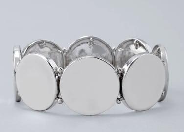 Disc Stretch Bracelet