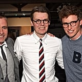 With Thom Browne and Andrew Bolton.