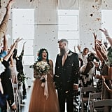 Bride Leaves Her Wheelchair to Walk Down the Aisle