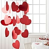 Red Paper Heart Mobile