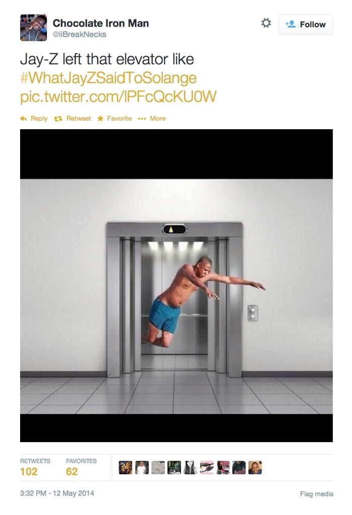 Jay Z's Awkward Dive