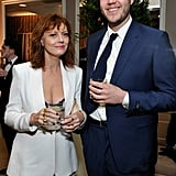 Pictured: Susan Sarandon and Jack Robbins