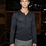 Chace Crawford at Dolce & Gabbana.