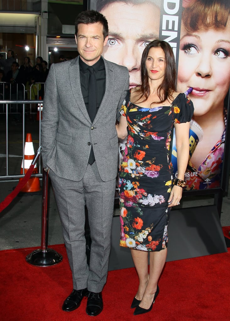 Jason Bateman and his wife, Amanda Anka attended the Identity Thief premiere in LA.