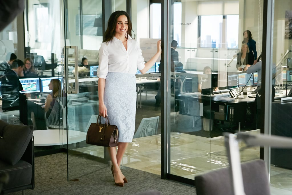 "Meghan Markle is best known for her role as paralegal Rachel Zane on USA's legal drama series Suits. The former actress starred on the show since 2011, but officially said goodbye after the seventh season. While it was initially speculated that her marriage to Prince Harry might've been the reason for her departure, Suits creator Aaron Korsh later revealed that Markle was actually written out of the show long before then. ""I sort of had a decision to make because I didn't want to intrude and ask her, 'Hey, what's going on? What are you going to do?' So . . . collectively the writers, we decided to take a gamble that these two people are in love and it's going to work out,"" he recently said in an interview with Radio 4's Today. ""What we decided to do was as the season progresses say, 'Look, I would rather have good things happen to Meghan in her life' — which would likely mean her leaving the show. So let's plan on that and it's much easier to undo that, if it came to it, than to just plan on her staying forever and then finding out she's going to go."" Rachel Zane might be gone, but she'll never be forgotten."