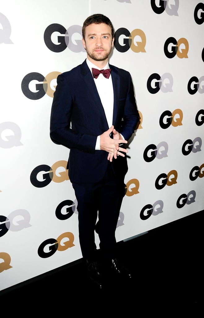 Justin Timberlake was honored at GQ's Men of the Year Awards.