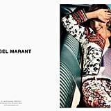 Arizona Muse looks gorgeous in head-to-toe Isabel Marant. Source: Fashion Gone Rogue