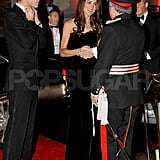 Kate Middleton and Prince William attended a military awards event in London.