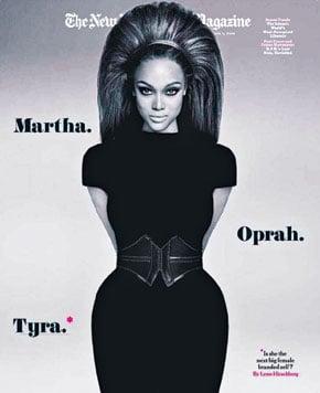 Fab Flash: Move Over Martha and Oprah, Make Room for Tyra