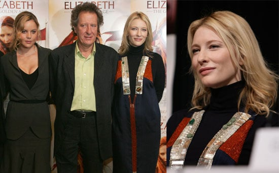 Cate Defends Herself in Elizabeth's Spirit