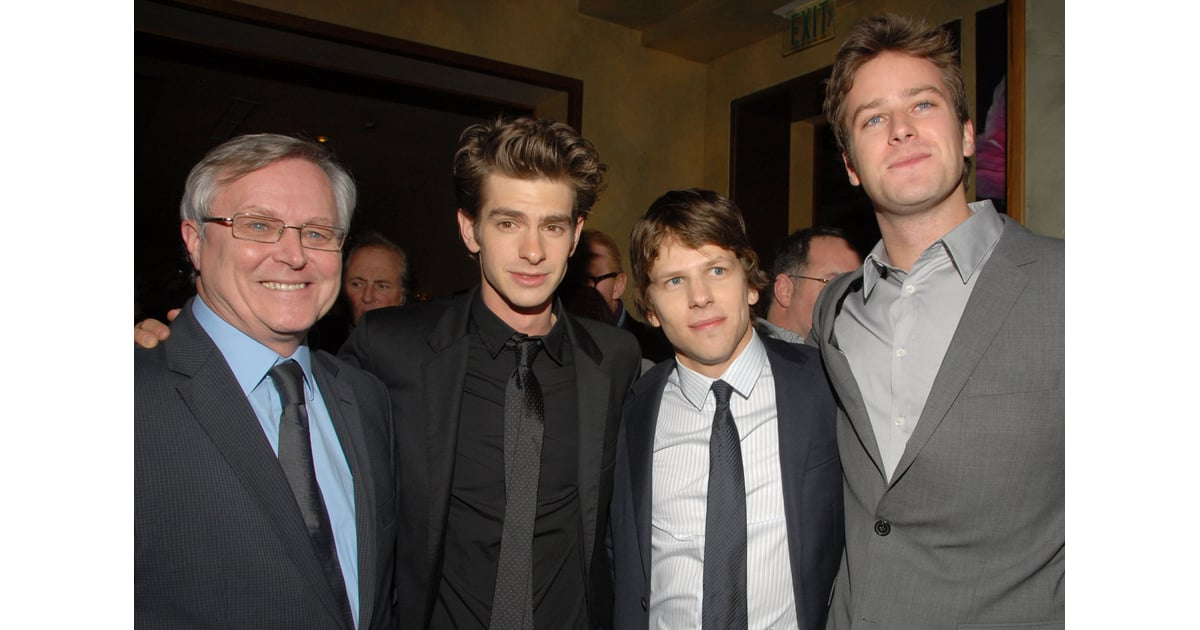Pictures of Armie Hammer, Jesse Eisenberg, and Andrew ...