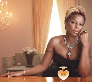 Mary J Blige New Perfume My Life 2010-04-30 12:10:56