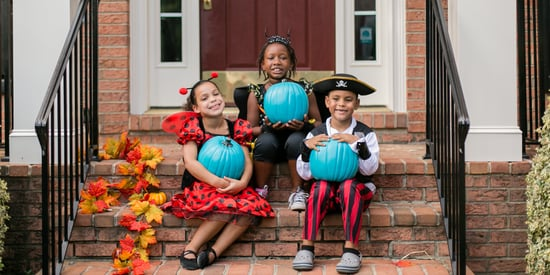 The Important Reason Some Families Put Out Teal Pumpkins For Halloween