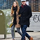 Jessica Biel and Justin Timberlake strolled through NYC on Friday.
