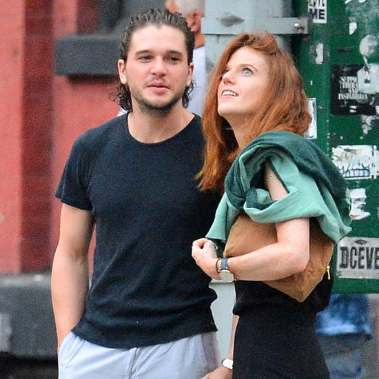 Kit Harington and Rose Leslie Out in NYC September 2016
