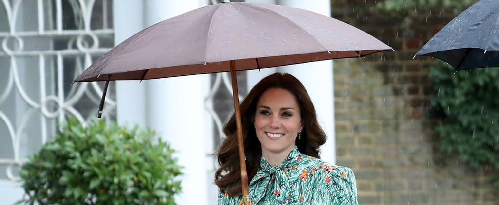 Kate Middleton's Dress Choice For a Rainy Day Is Surprisingly Very Cheery