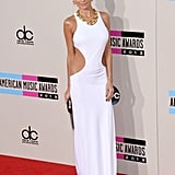 Sexy sophisticate Nicole Richie glowed in a body-hugging Emilio Pucci gown.