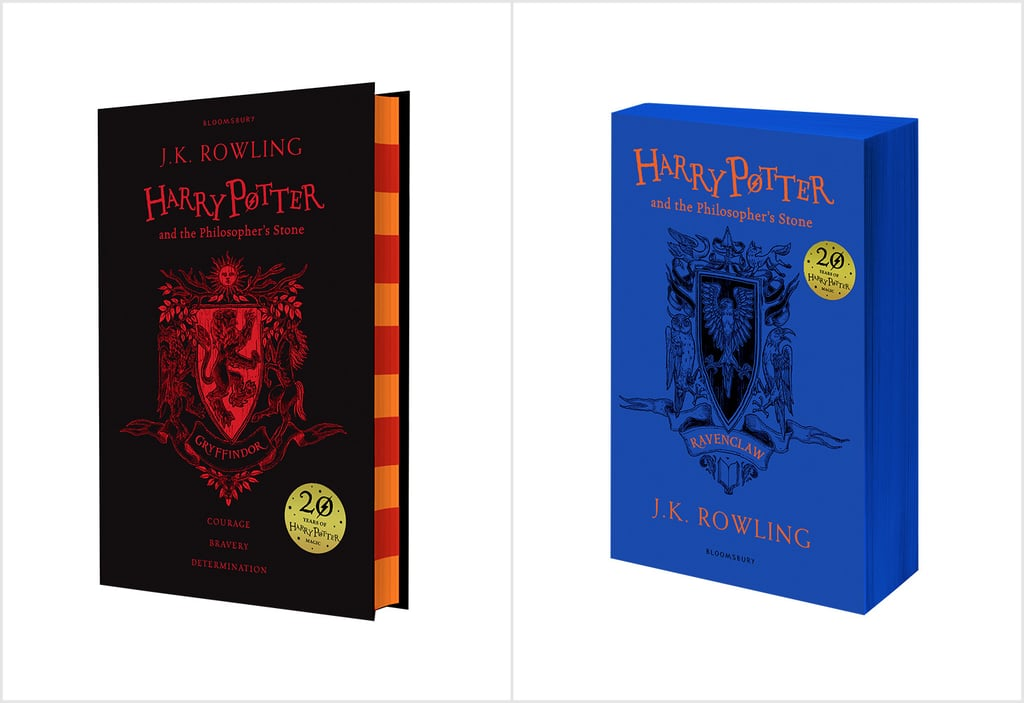 Harry Potter Hogwarts House Book Covers