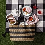 Let this Striped Seagrass Tote ($45) double as a Summer bag and picnic carry-all.