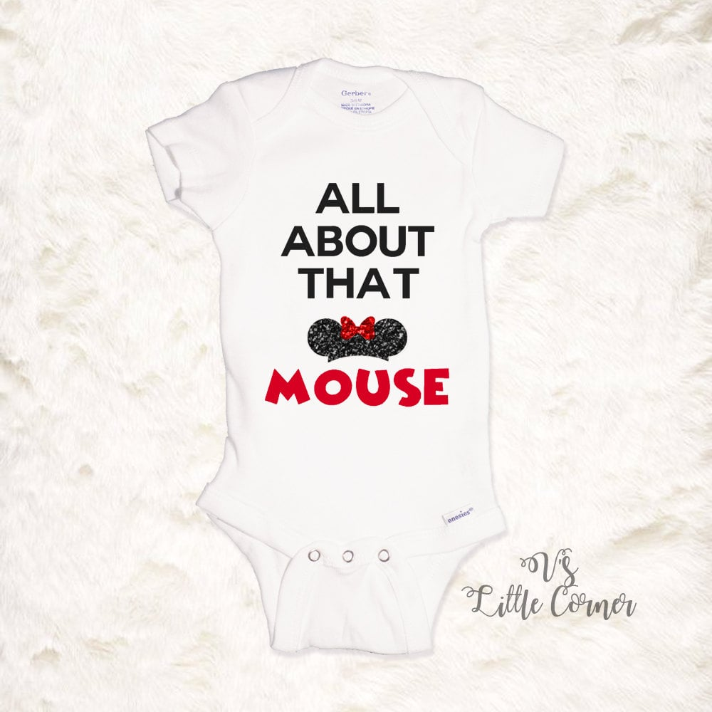 All About That Mouse Onesie