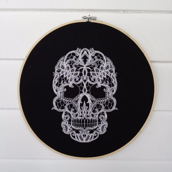 Halloween Embroidery Hoops