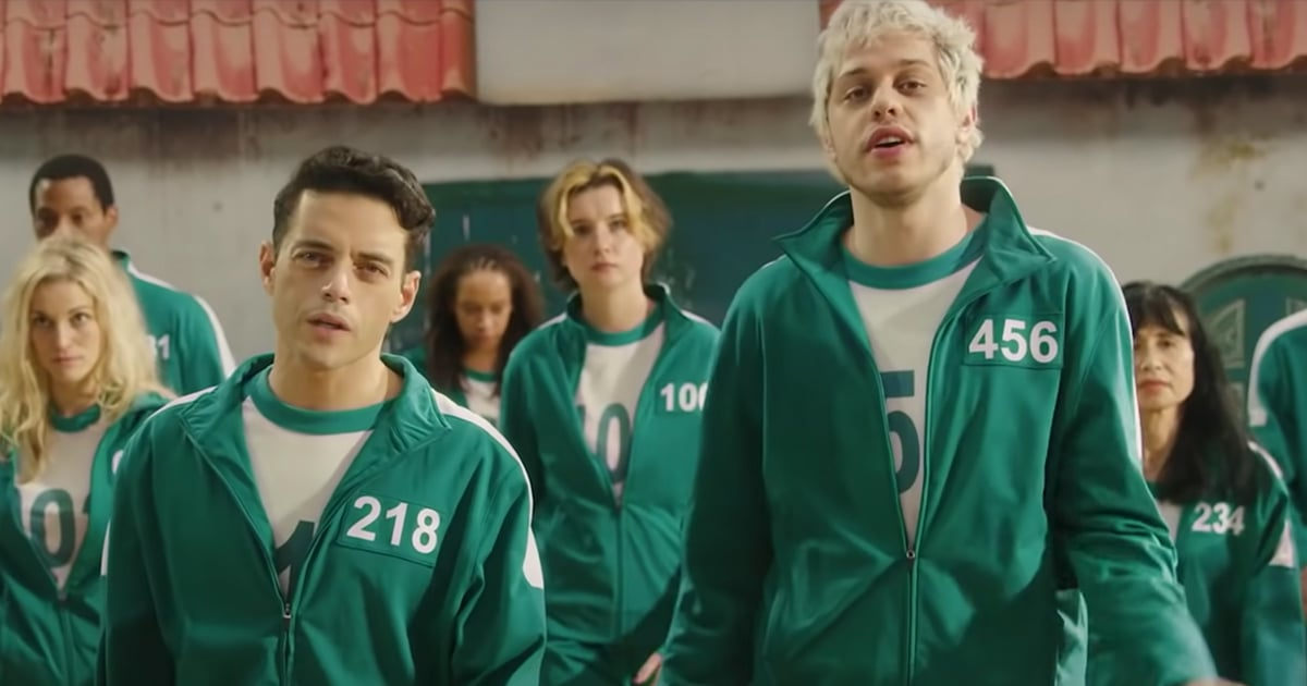 Rami Malek and Pete Davidson Recap Squid Game in a Country Song, and We Can't Stop Singing It.jpg