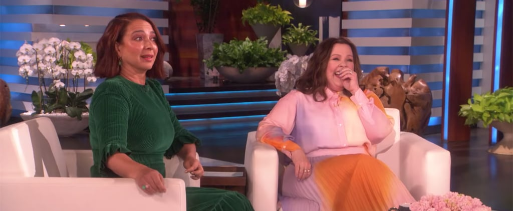 Maya Rudolph and Melissa McCarthy on The Ellen Show May 2019