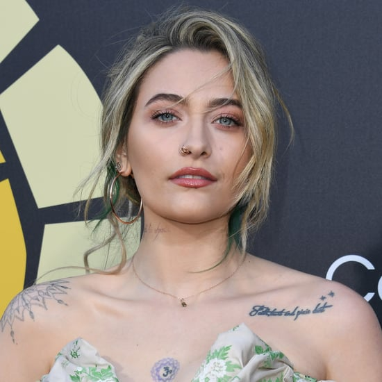 See Paris Jackson's New Green Underlayer Hair Color