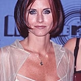 Courteney Cox's Long Bob, 1997