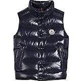 Moncler Vented-Hem Quilted Puffer Vest ($365)