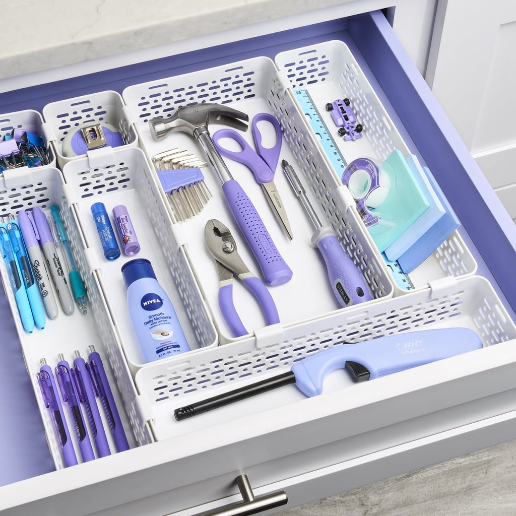 YouCopia LinkedBin Utensil and Silverware Drawer Organiser