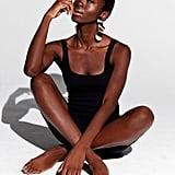 Model Shokunbi Halimotu Wearing Inamorata's Bodysuit