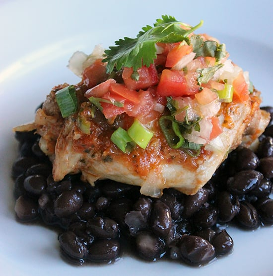 Lunch and Dinner: Crock-Pot Mexican Chicken