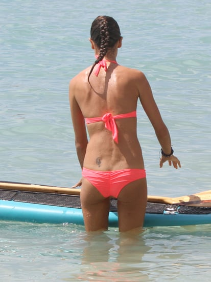 Guess Which Model Is Stand-Up Paddleboarding?
