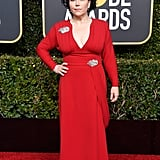 Alex Borstein at the 2019 Golden Globes