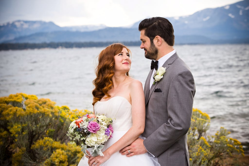 Indoor lake tahoe wedding popsugar love sex this couple skipped tired wedding cliches for their beautiful lake tahoe wedding junglespirit Choice Image