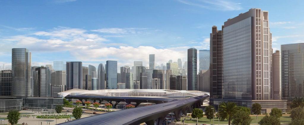 أول نظام هايبرلوب في العالم سربط بين حدود دبي وأبوظبي على ام