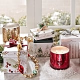Frosted Cranberries Filled Candle With Gift Box