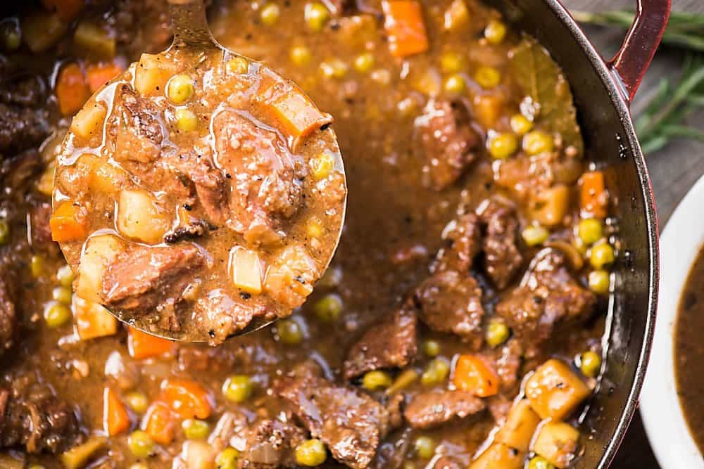 Old Fashioned Beef Stew Recipe Better Homes And Gardens