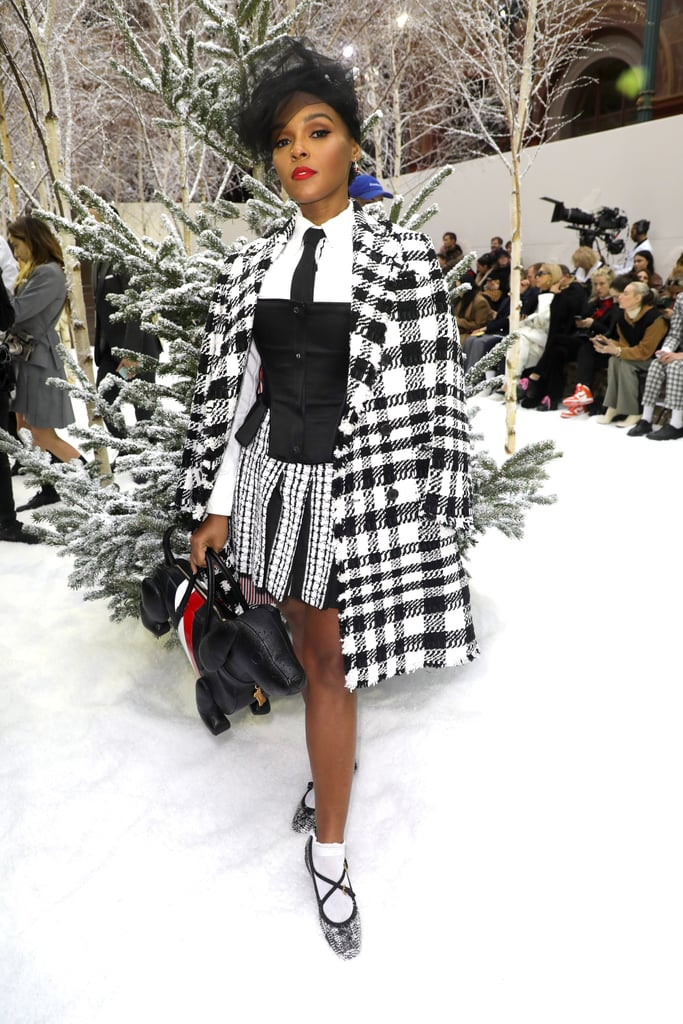 Janelle Monáe at the Thom Browne Fall 2020 Show