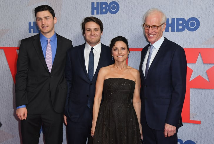 Julia Louis Dreyfus And Her Family At Veep Nyc Premiere 2019