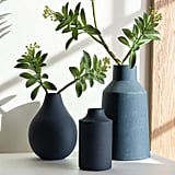 Navy Blue Carter Vase