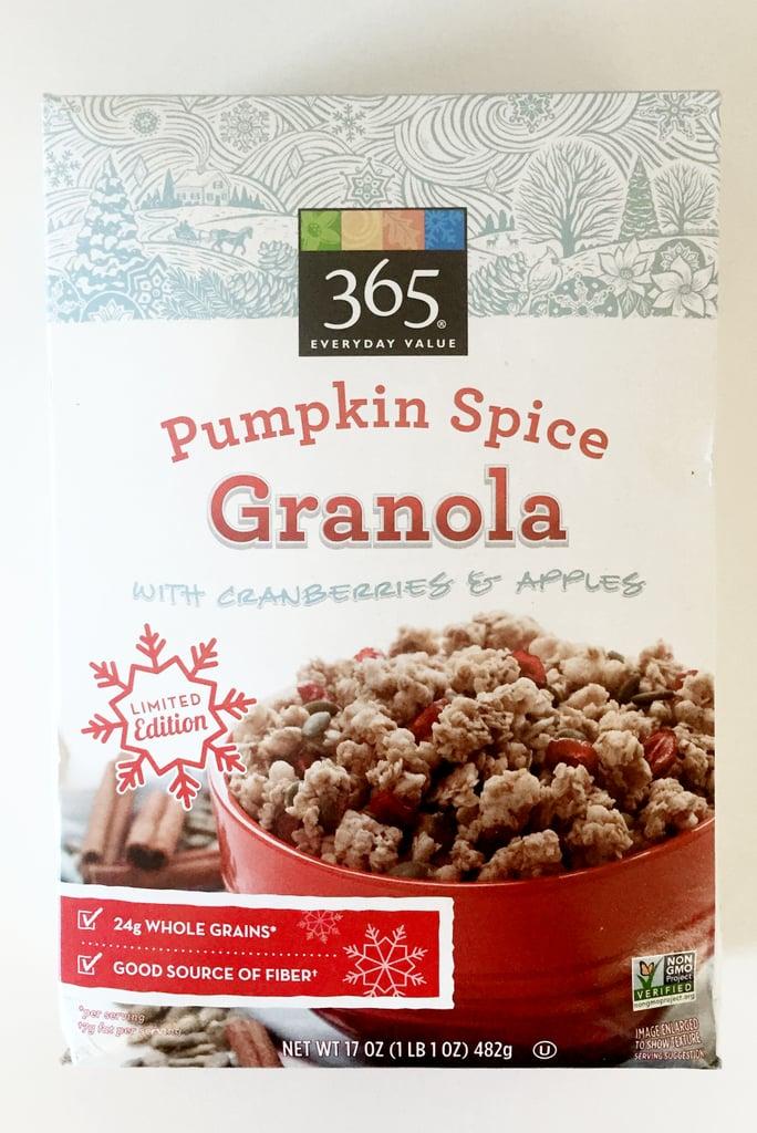 Whole Foods 365 Pumpkin Spice Granola