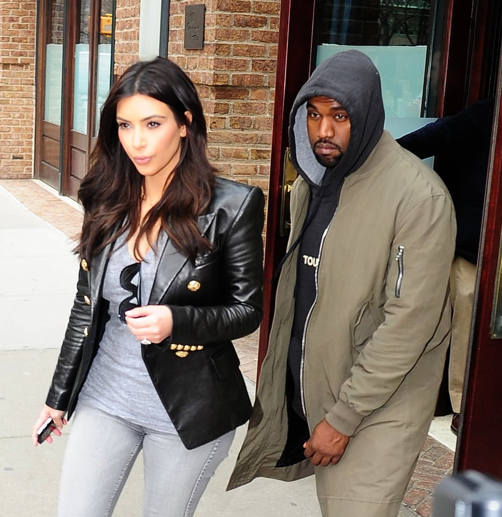In March 2014, Kim and Kanye were seen in Tribeca, NY.